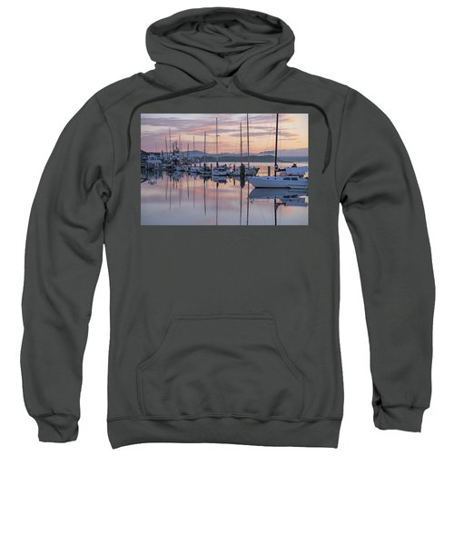 Boats In Pastel Sweatshirt
