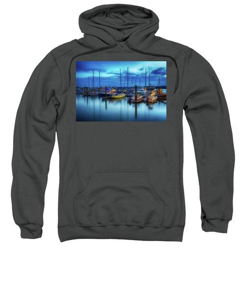 Boats In The Bay Sweatshirt
