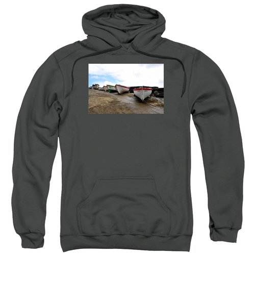 Sweatshirt featuring the photograph Boats,fishing-24 by Joseph Amaral