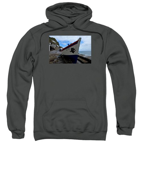 Sweatshirt featuring the photograph Boats,fishing-26 by Joseph Amaral