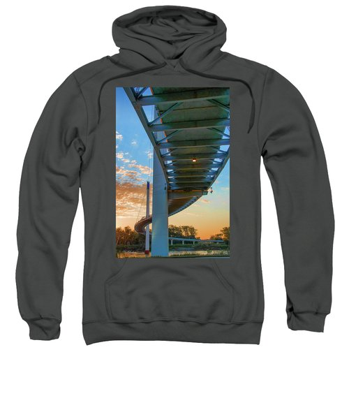 Bob Kerry Bridge At Sunrise-2 Sweatshirt