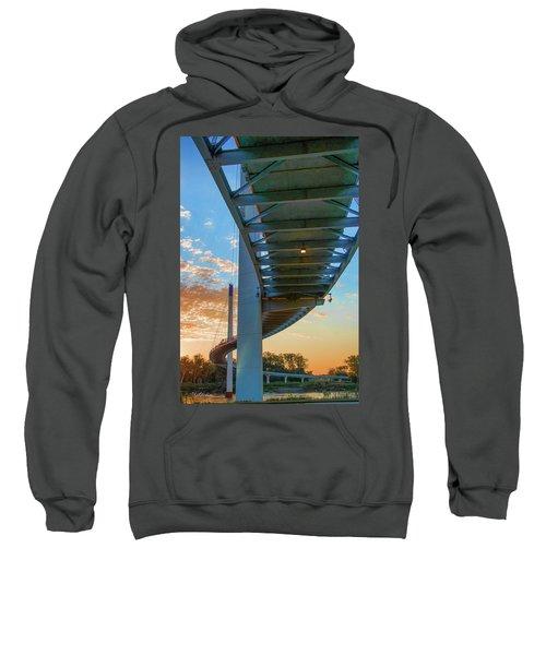Bob Kerry Bridge At Sunrise-2 Sweatshirt