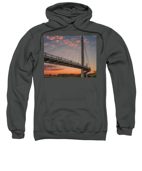 Bob Kerry Bridge At Sunrise-4 Sweatshirt