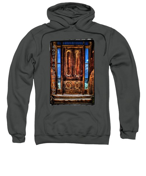 Bodie Ghost Town Front Door Detail Sweatshirt