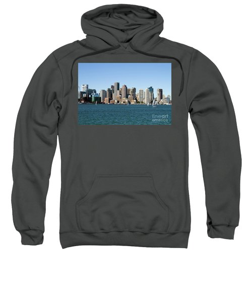 Boston City Skyline Sweatshirt