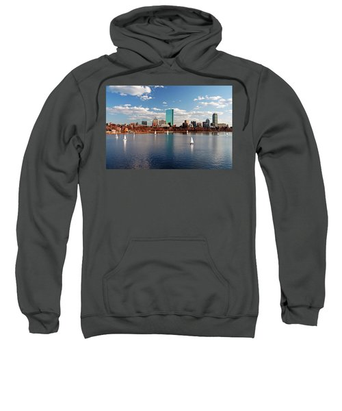 Boston On The Charles  Sweatshirt
