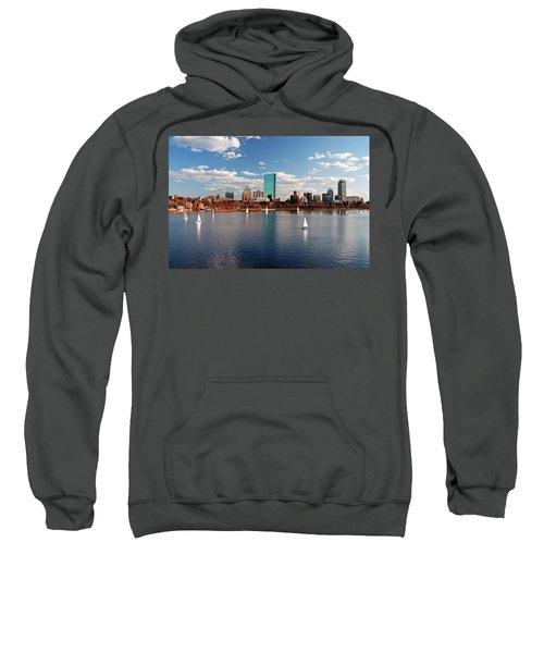 Boston On The Charles  Sweatshirt