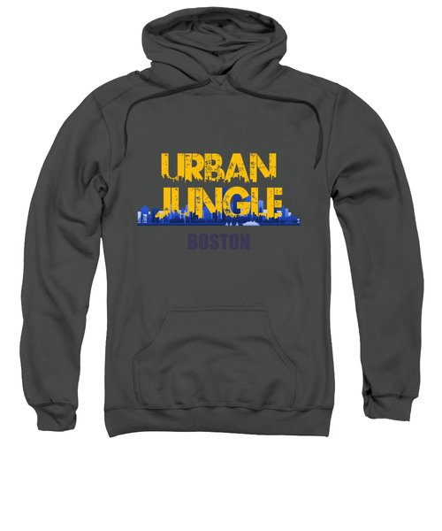 Boston Urban Jungle Shirt Sweatshirt by Joe Hamilton