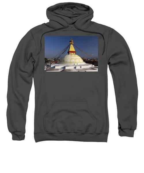 Boudhanath Stupa Sweatshirt
