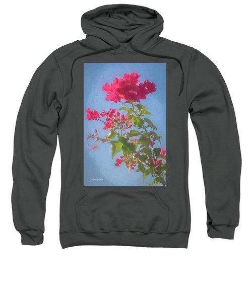 Bougainvillea Morning Sweatshirt
