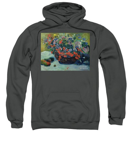 Bouquet Of Flowers Sweatshirt by Paul Gauguin