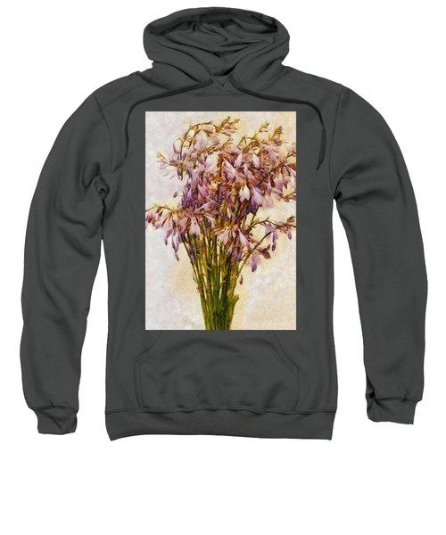 Bouquet Of Hostas Sweatshirt