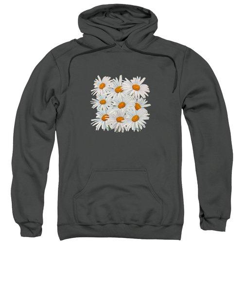 Bouquet Of White Daisies Sweatshirt