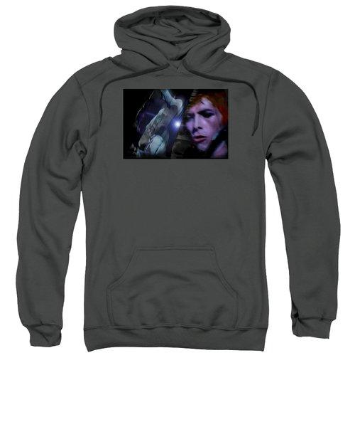 Bowie   A Welcome Star Sweatshirt