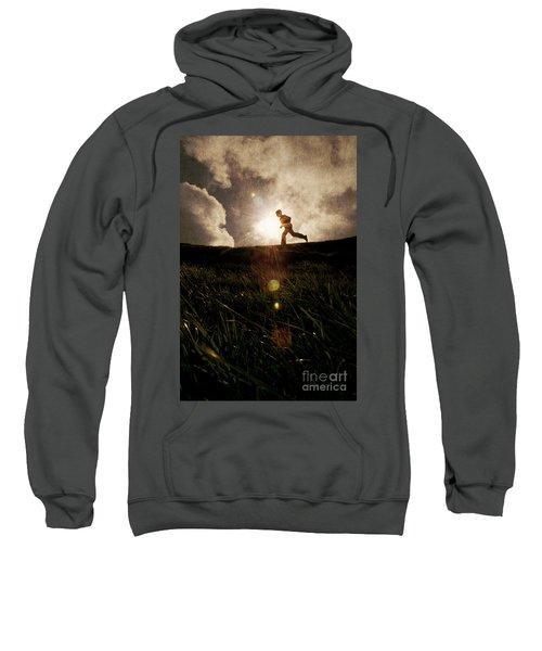 Boy Running Sweatshirt