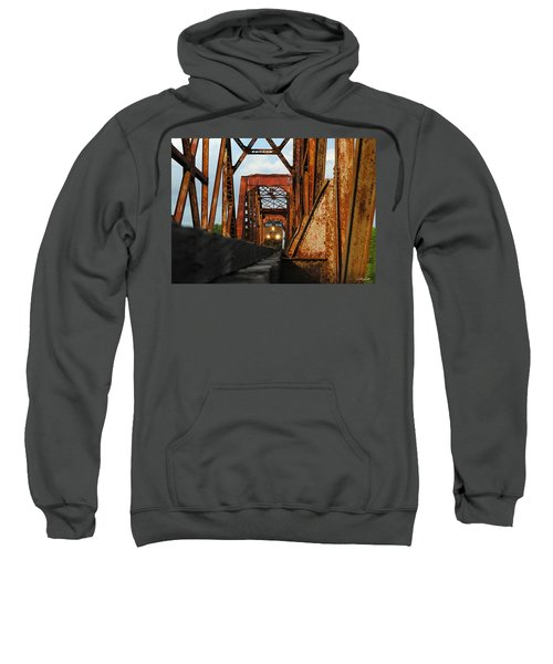 Brazos River Railroad Bridge Sweatshirt