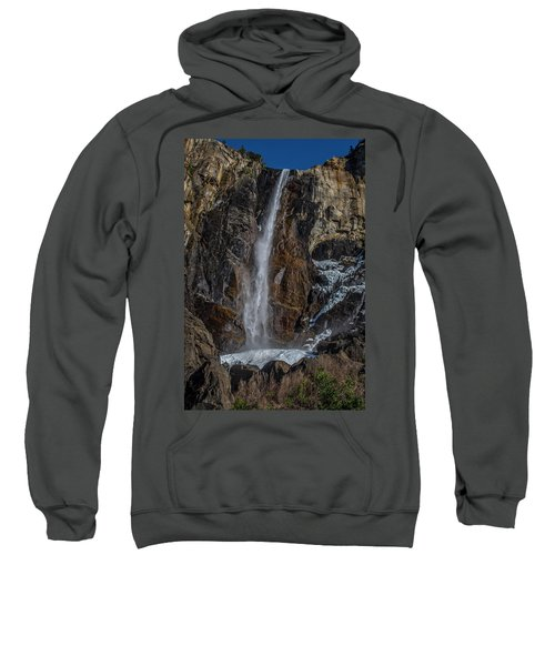 Bridal Veil Falls On Ice Sweatshirt