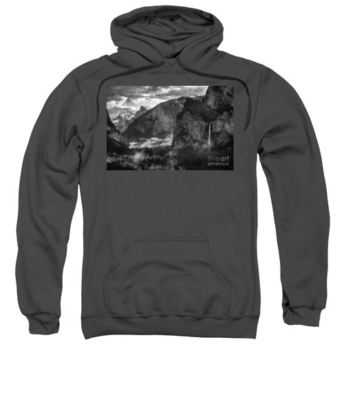 Bridalvail Falls And Half Dome Sweatshirt