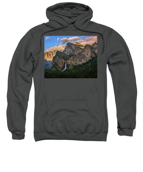 Bridalveil Falls From Tunnel View Sweatshirt