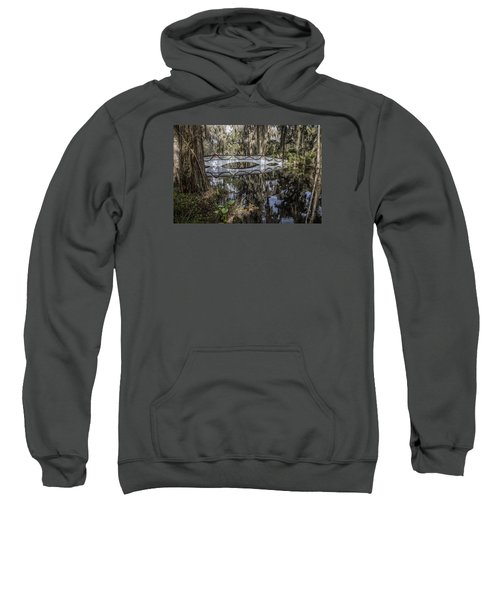 Bridge At Magnolia Plantation Sweatshirt