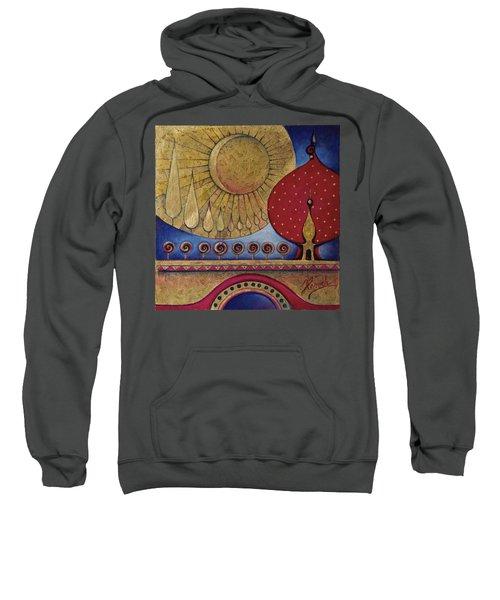 Bridge Between Sunrise And Moonrise Sweatshirt