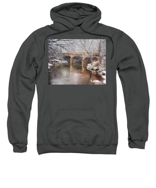 Bridge In Winter  Sweatshirt