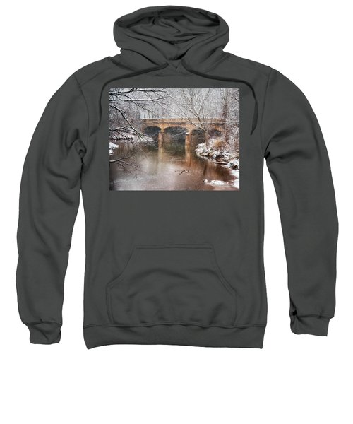 Bridge In Winter  Sweatshirt