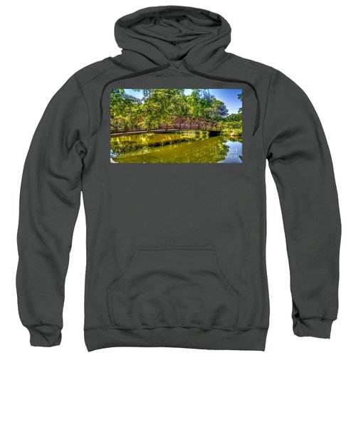 Bridge Over Delaware Canal At Colonial Park Sweatshirt