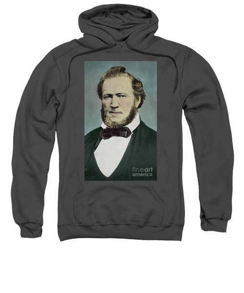 Brigham Young  Photograph Sweatshirt