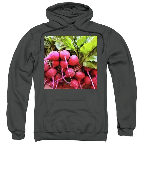 Bright Fresh Radish Sweatshirt