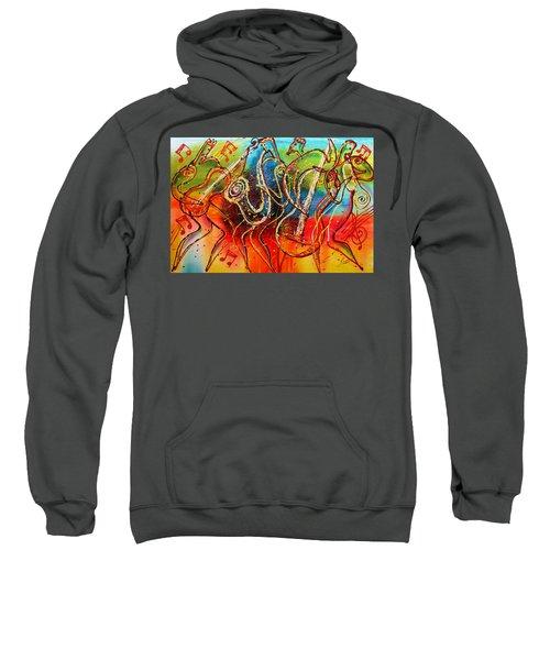 Bright Jazz Sweatshirt