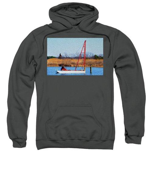 Bright Paintery Barge Sweatshirt