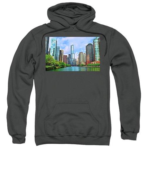 Bright Sunny Chicago Day Sweatshirt