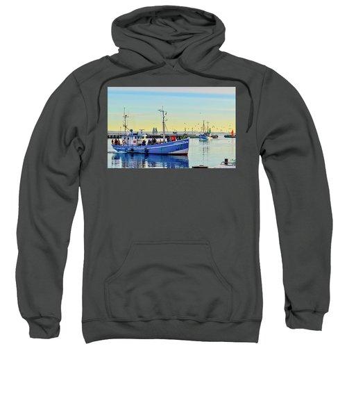 Bringing In The Day's Catch Sweatshirt