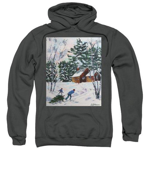 Bringing In The Tree Sweatshirt
