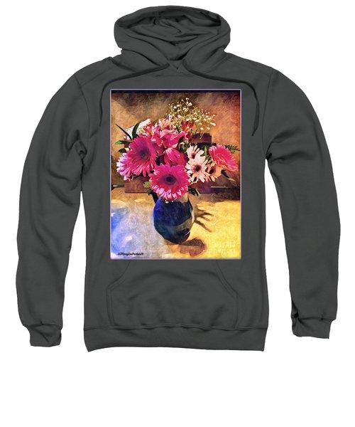 Brithday Wish Bouquet Sweatshirt