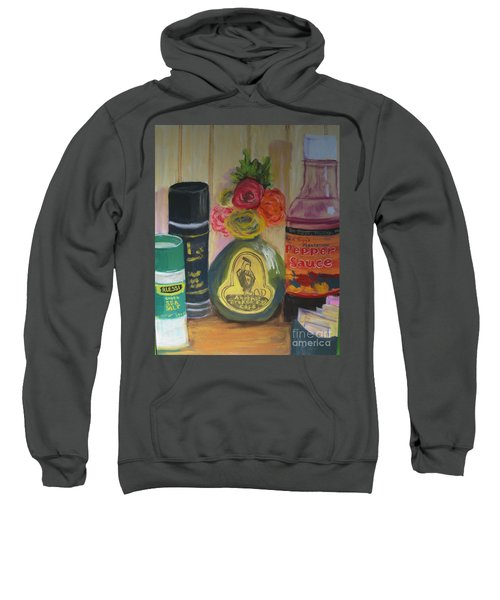 Broken Egg Tableart Sweatshirt