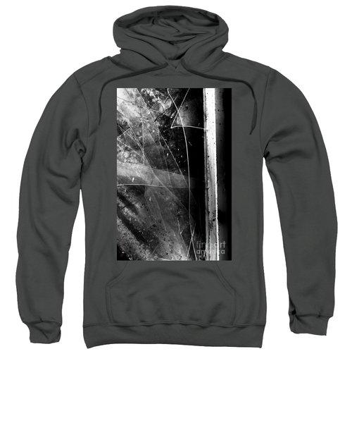 Broken Glass Window Sweatshirt