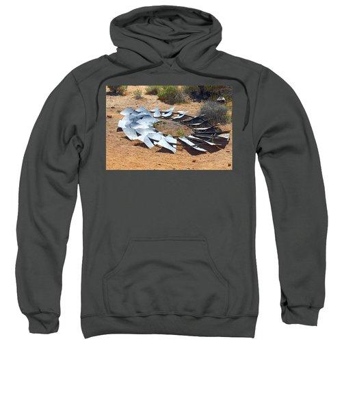 Broken Wheel Of Fortune Sweatshirt