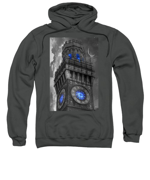 Bromo Seltzer Tower Baltimore - Blue  Sweatshirt