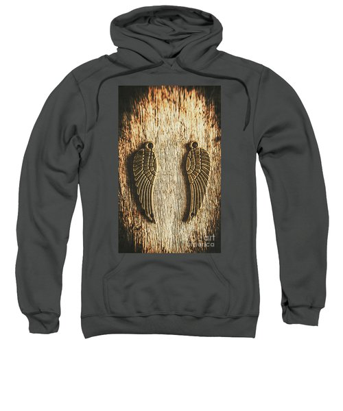 Bronze Angel Wings Sweatshirt