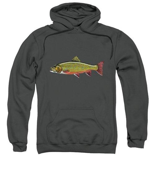 Brook Trout Sweatshirt by Serge Averbukh