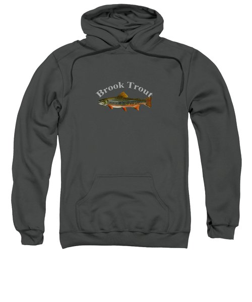 Brook Trout Sweatshirt by T Shirts R Us -