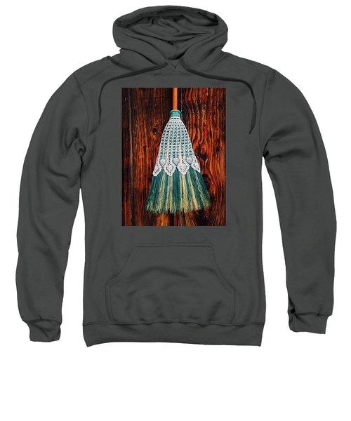 Broom Skirt Sweatshirt