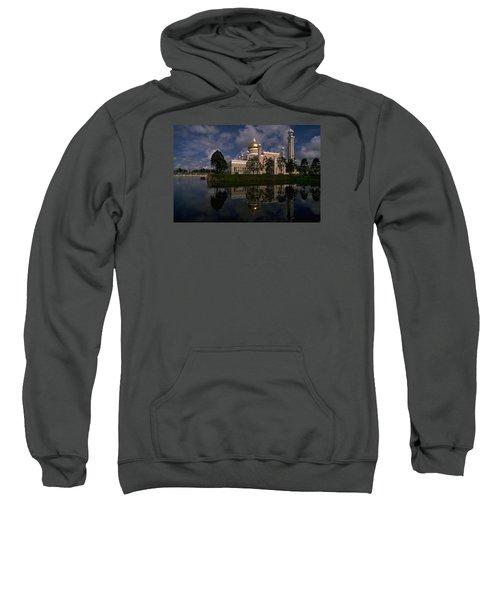 Brunei Mosque Sweatshirt by Travel Pics