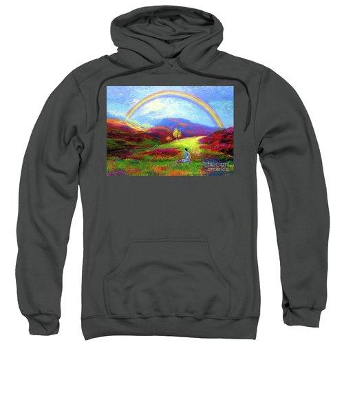 Buddha Chakra Rainbow Meditation Sweatshirt