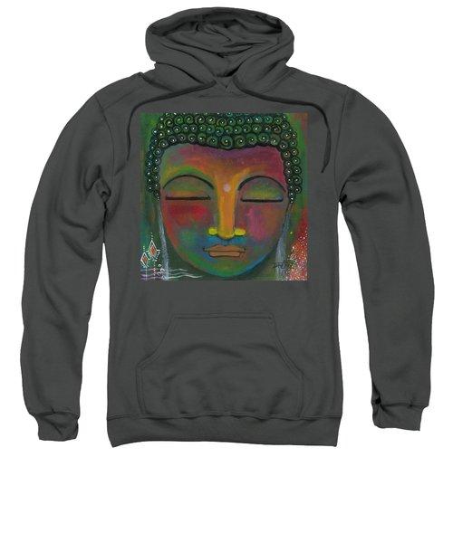 Buddha Painting Sweatshirt