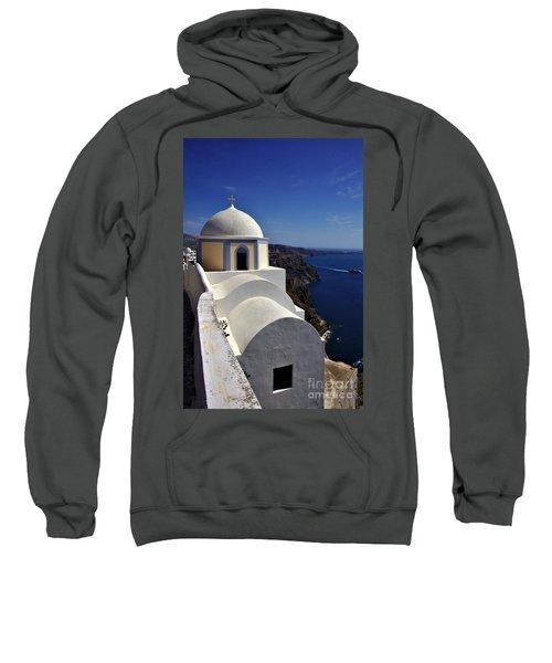 Building In Fira Sweatshirt