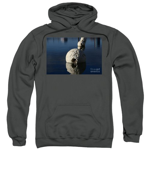 Sweatshirt featuring the photograph Buoy Upfront by Stephen Mitchell