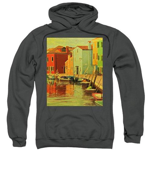 Burano, Italy - Study Sweatshirt